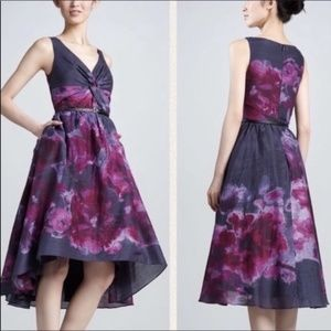 NWT Lela Rose Floral Watercolor Dress with pockets